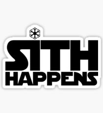 Sith Happens Sticker