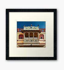 City Palace Porch Framed Print