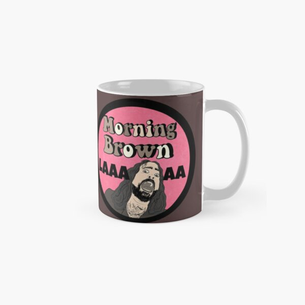 Morning Brown Aunty Donna Zach Mug classique