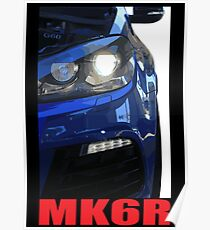 Golf R - MK6 Poster