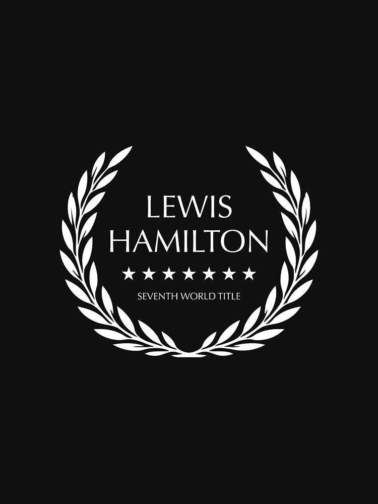 Lewis Hamilton - Seventh World Title by MoviePosterBoy