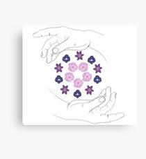 Flower Crown Canvas Print