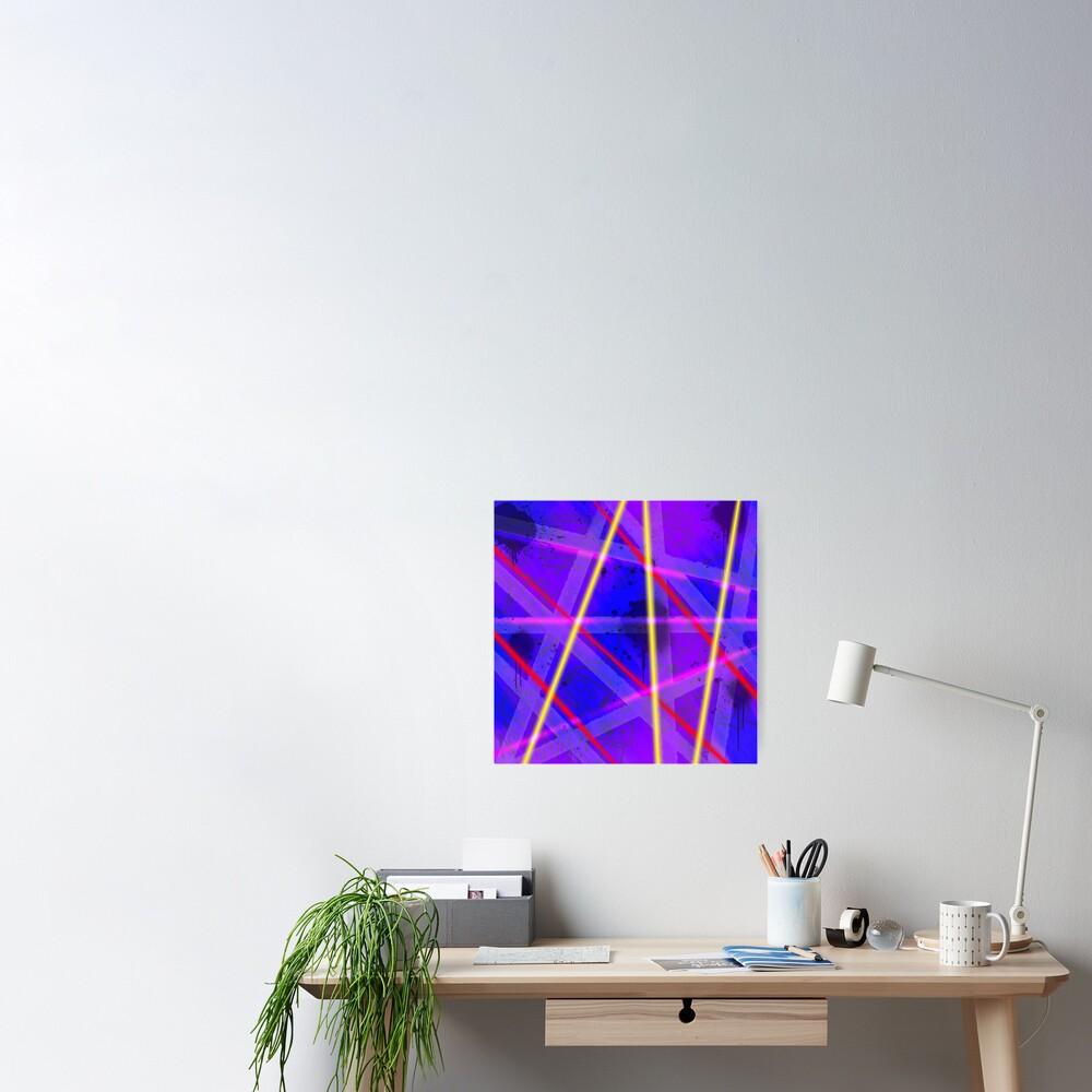 Neon Bots Poster