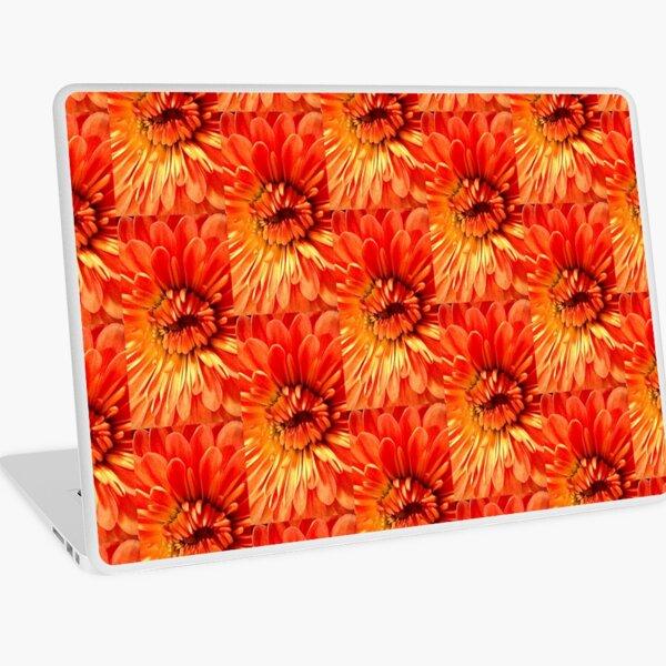 Tangerine Tunnel Laptop Skin