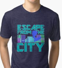 Escape from the City Tri-blend T-Shirt