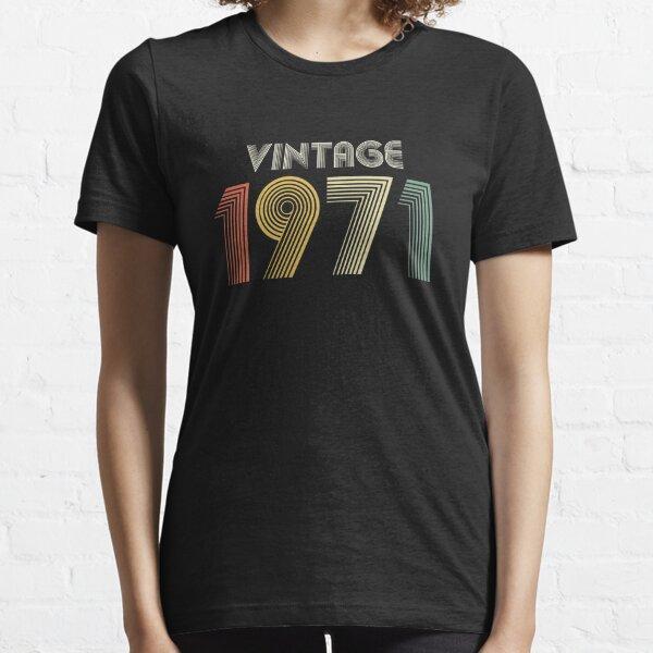 50th Birthday Vintage 1971 Gift Essential T-Shirt