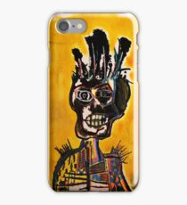 Basquiat African Skull Man iPhone Case/Skin