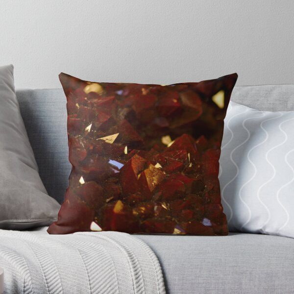 Red Rock Dreamscape Throw Pillow