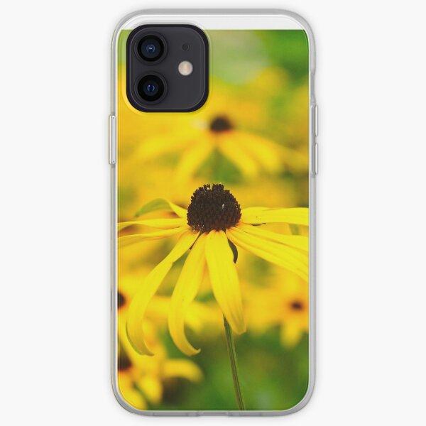 Sunny black eyed susan iPhone Soft Case