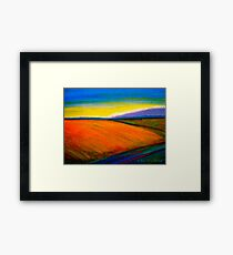 Landscape...Out in the Country Framed Print