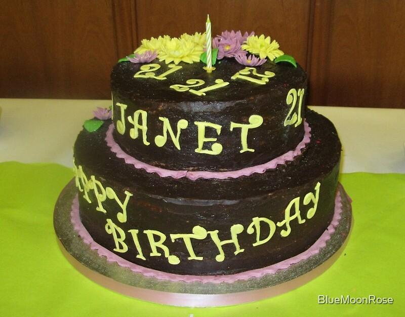 Janet Birthday Cake Cake Recipe