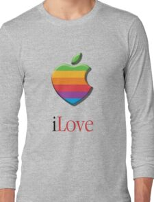 iLove 3D (for light shirts) T-Shirt