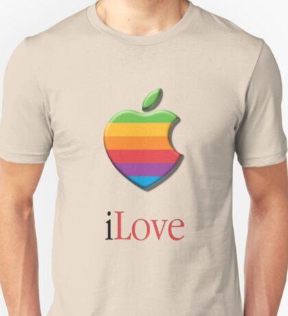 iLove 3D (for light shirts) T-Shirt