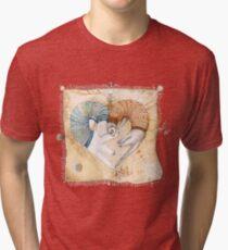 Ferret heart Tri-blend T-Shirt