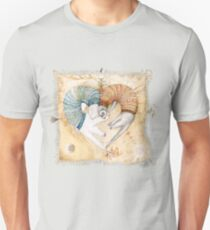 Ferret heart Unisex T-Shirt