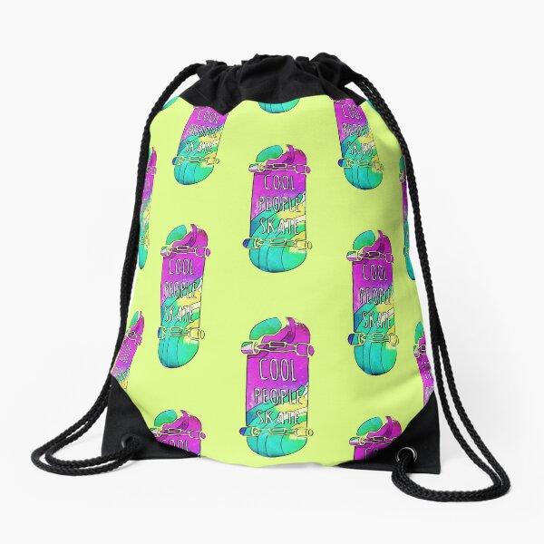 Skate Love Drawstring Bag