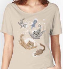 Cat Women's Relaxed Fit T-Shirt