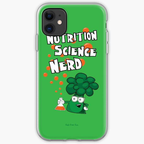 Nutrition Science Nerd iPhone Soft Case