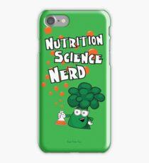 Nutrition Science Nerd iPhone Case/Skin