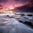 Maori Bay Seascape  by earlcooknz
