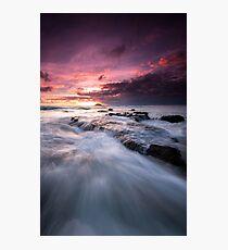 Maori Bay Seascape  Photographic Print
