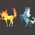 Four Horse Elements by RavensLanding