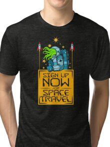 Space Travel Tri-blend T-Shirt