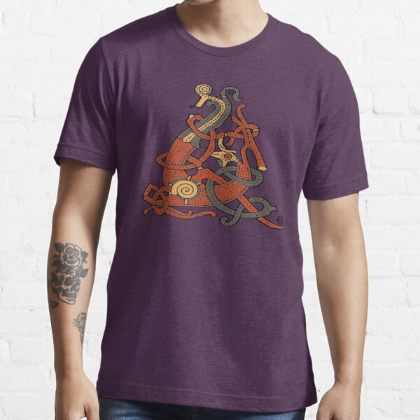 Viking Oseberg style Serpent Essential T-Shirt