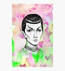 Sci-Fi boyfriend Spock Photographic Print