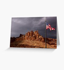 The Castle at Capitol Reef National Park, Utah Greeting Card