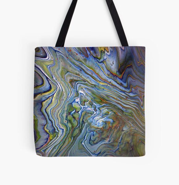 Topographical 2 All Over Print Tote Bag