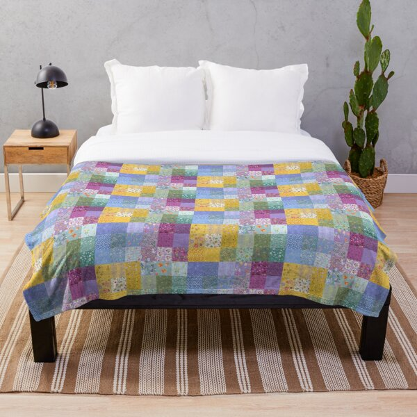 Spring Breeze Quilt by Tea with Xanthe Throw Blanket