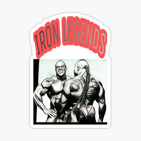 IRON LEGENDS Sticker