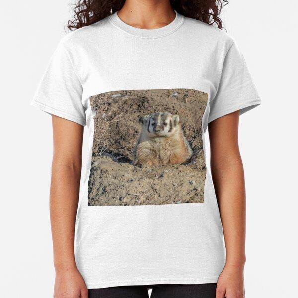 Brown Noser - Badger Classic T-Shirt