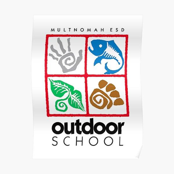 Outdoor School Logo (fcb) Poster