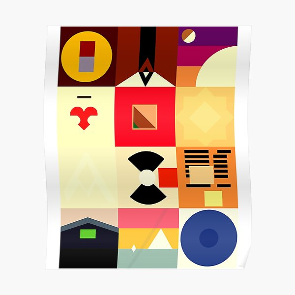 KANYE WEST DISCOGRAPHY Poster