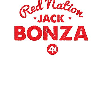 Jack Bonza Red Nation Vintage Fight Tee by newypro