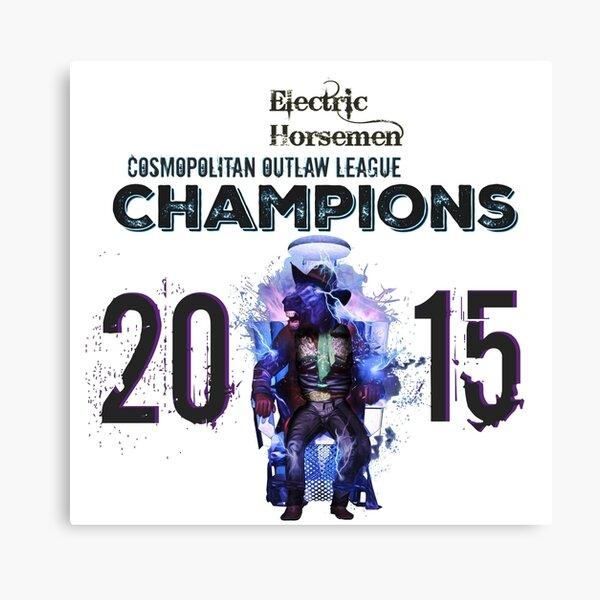2015 COL Champions - Electric Horsemen Canvas Print