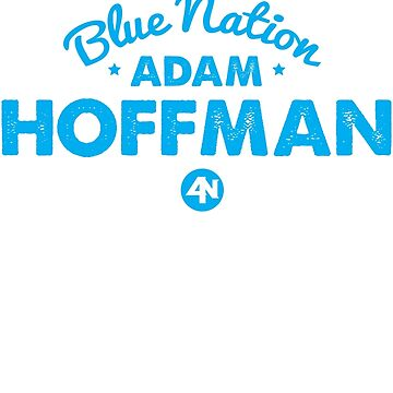 Adam Hoffman Blue Nation Vintage Fight Tee by newypro