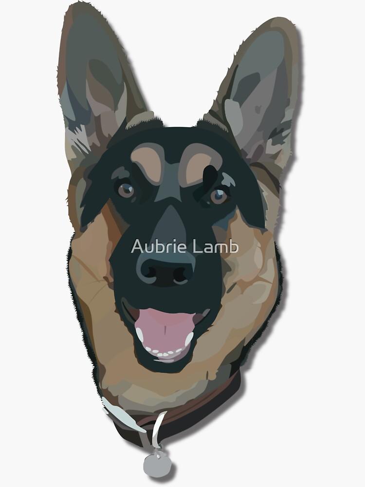 German Shepherd by Aubb