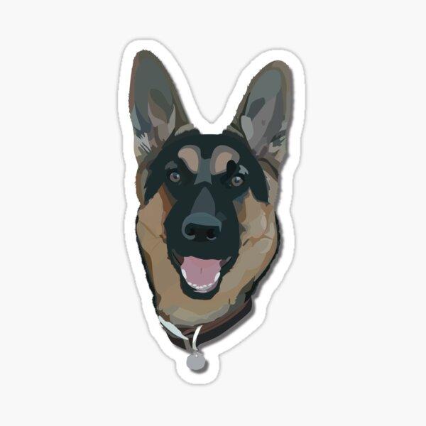 German Shepherd Sticker