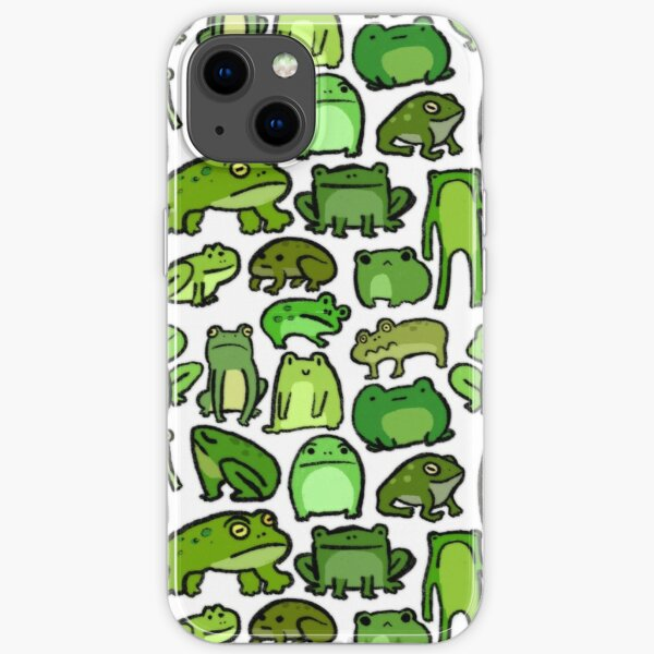 Frogs  iPhone Soft Case