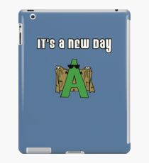 New Day Flasher iPad Case/Skin