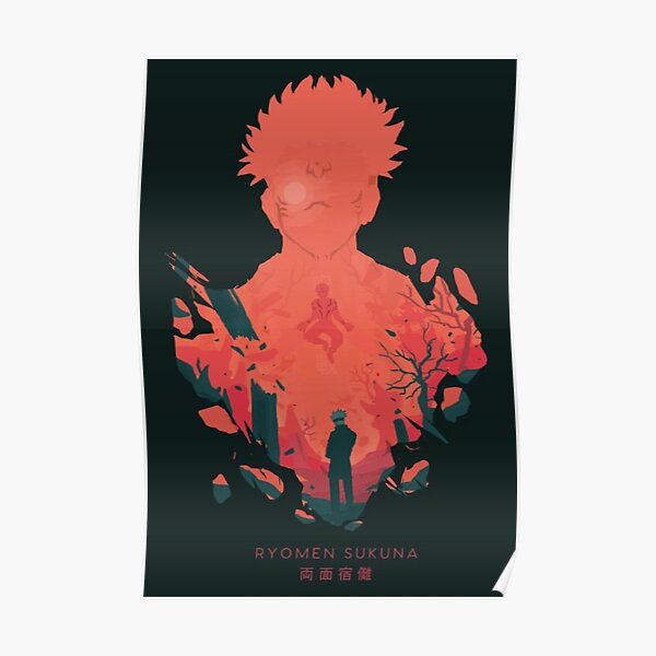 jujutsu kaisen 16 Poster