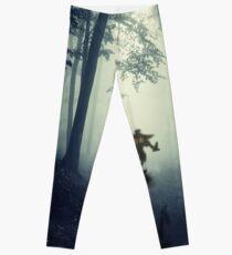 Skull Kid in Forest Leggings