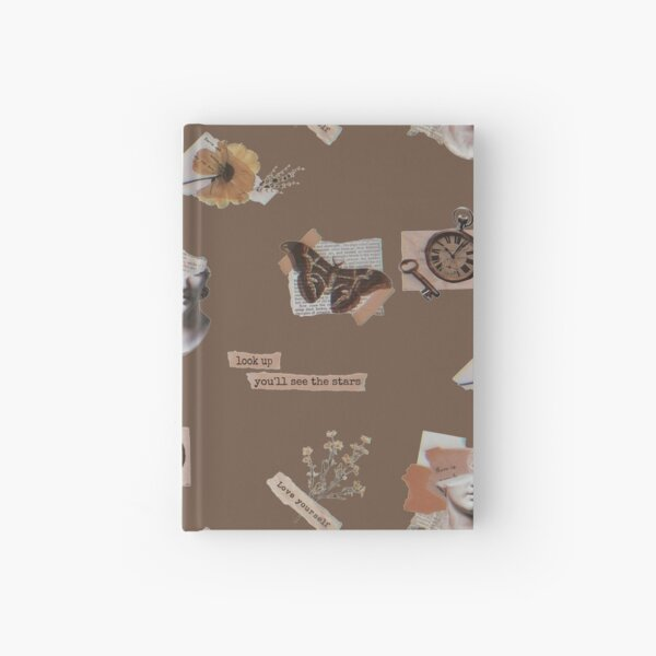 rainy evening at the library- Dark Academia  Hardcover Journal