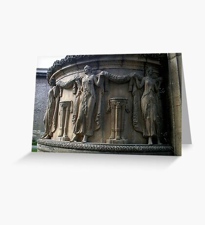 Women Of Stone Greeting Card