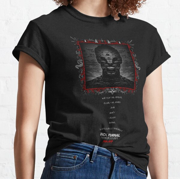 NOCTURNAL TRANSMISSIONS - Watch The Skies... Classic T-Shirt