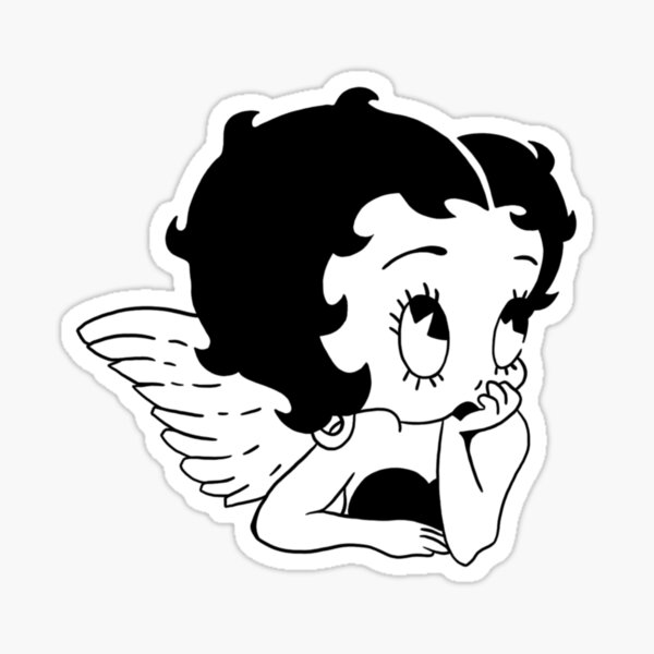 Betty  Sticker