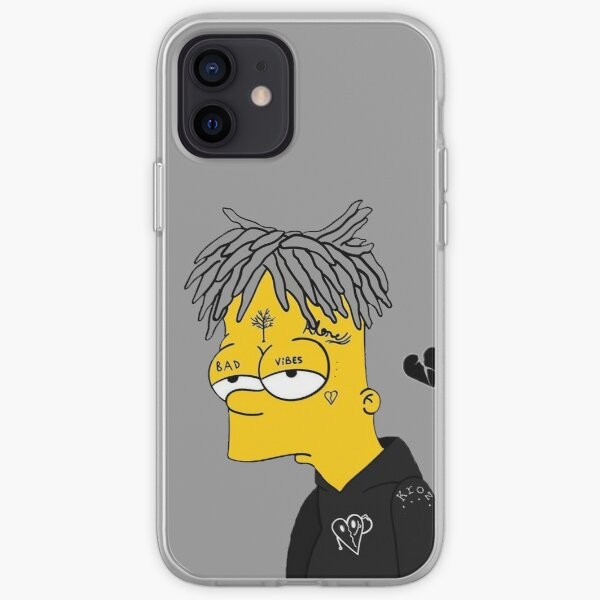 Sad Bart iPhone Soft Case